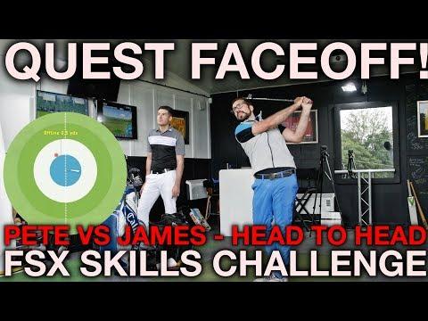FSX SKILLS CHALLENGE FACE OFF - Peter Finch vs James Goddard