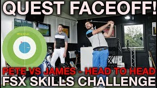 FSX SKILLS CHALLENGE FACE OFF - Peter Finch vs James Goddard