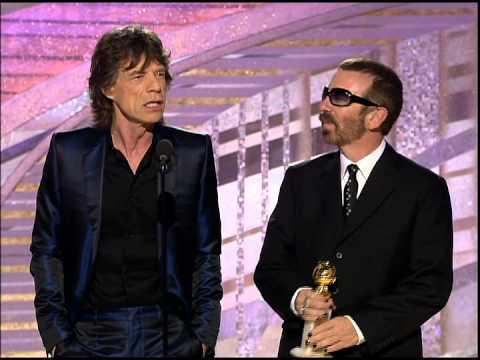 Golden Globes 2005 Mick Jagger Best Original Song