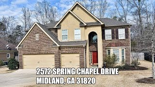 Home For Sale 2572 Spring Chapel Dr., Columbus Ga Unbranded Video