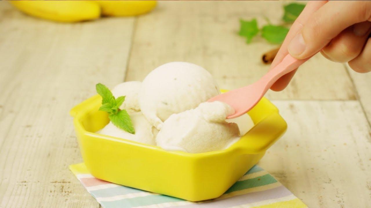 bananen eis ein leichtes und veganes dessert rezept f r naschkatzen youtube. Black Bedroom Furniture Sets. Home Design Ideas