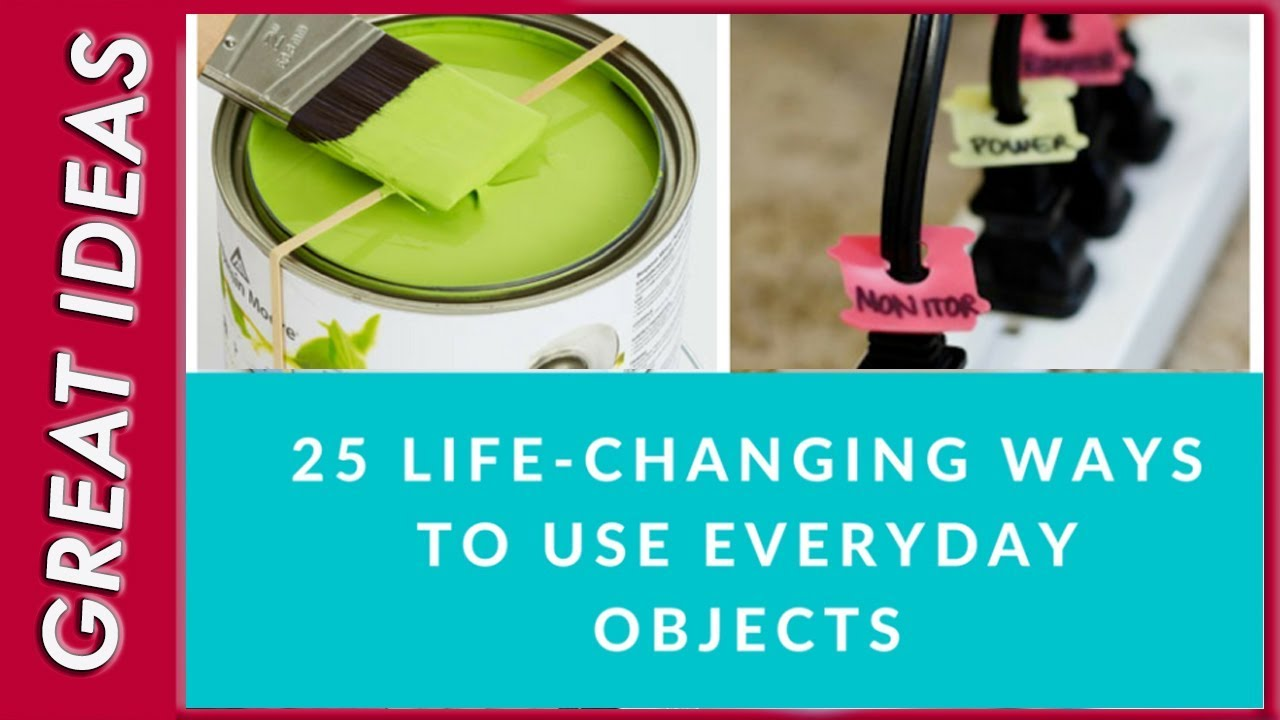 Photo Hacks With Everyday Objects Using >> 25 Simple Life Hacks Using Everyday Objects Youtube