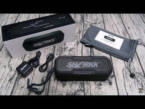 Sharkk Commando Rugged Bluetooth Speaker With Power Bank
