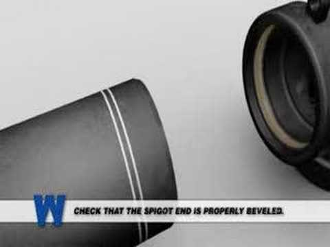 Preview of Lesson 7: PUSH-ON FITTING INSTALLATION FOR DUCTILE IRON PIPE (Animation)