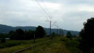 Powrót pociągów na linię 104 Chabówka - Nowy Sącz