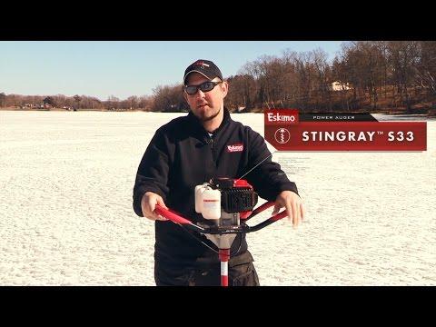 Eskimo Stingray S33 - 33cc 8` Ice Auger
