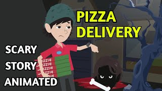 Pizza Delivery -  Horror Story Animated in Hindi | Scary baba