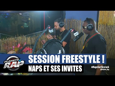 Youtube: Naps – Session freestyle avec Gims, Thabiti et Ivory! #PlanèteRap