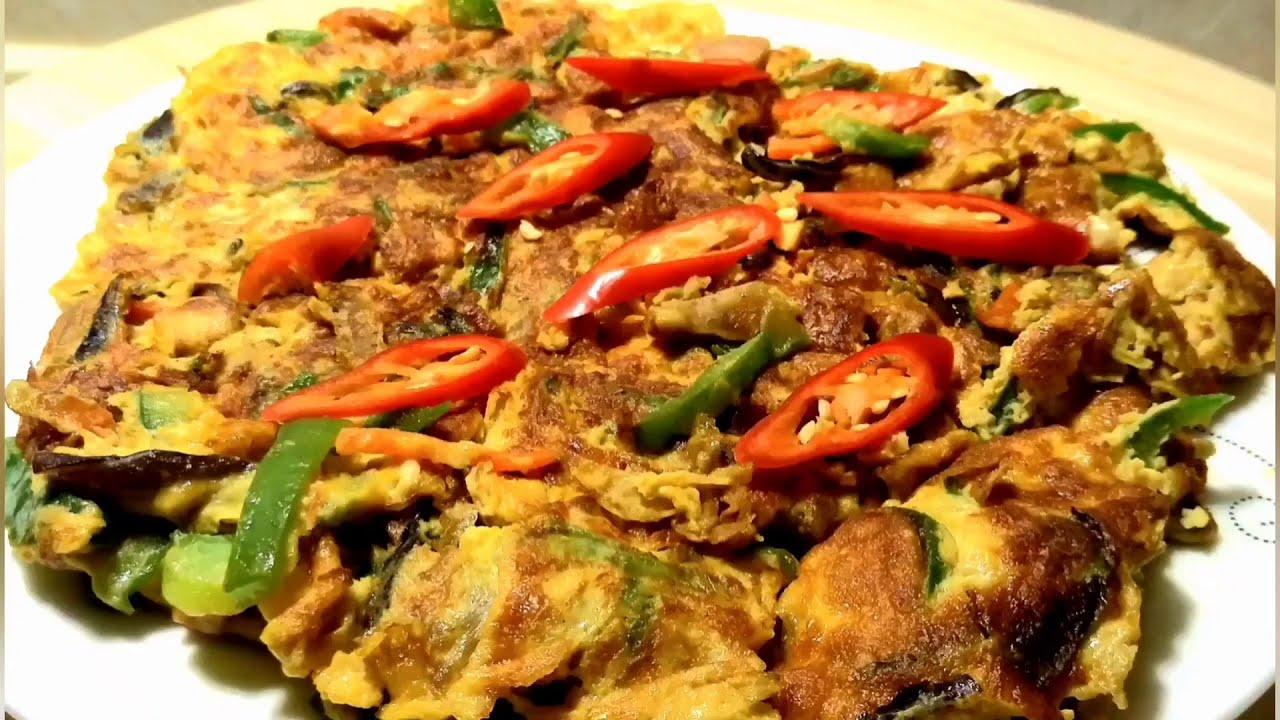 含蛋 (椒香蛋花) 鮮嫩椒香味 - Vegan 蔬房菜 Cuisine Taiwan 蔬食 (Chili with egg)