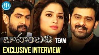 Video Baahubali Team Exclusive Interview | Prabhas, Rana, Tamannaah, Anushka | Rajamouli | Bahubali download MP3, 3GP, MP4, WEBM, AVI, FLV April 2018