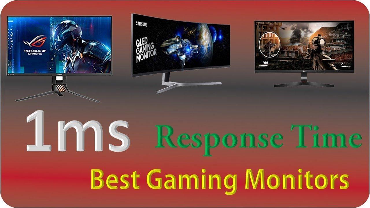 Top 6: Best 1ms Gaming Monitors 2018   Best Low input lag monitors
