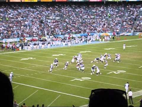 Chargers 102 Yard Kickoff Return for TD!!!