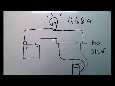 # 84 - Como Medir Alta Amperagem DC - Resistor Shunt Muito Fácil!