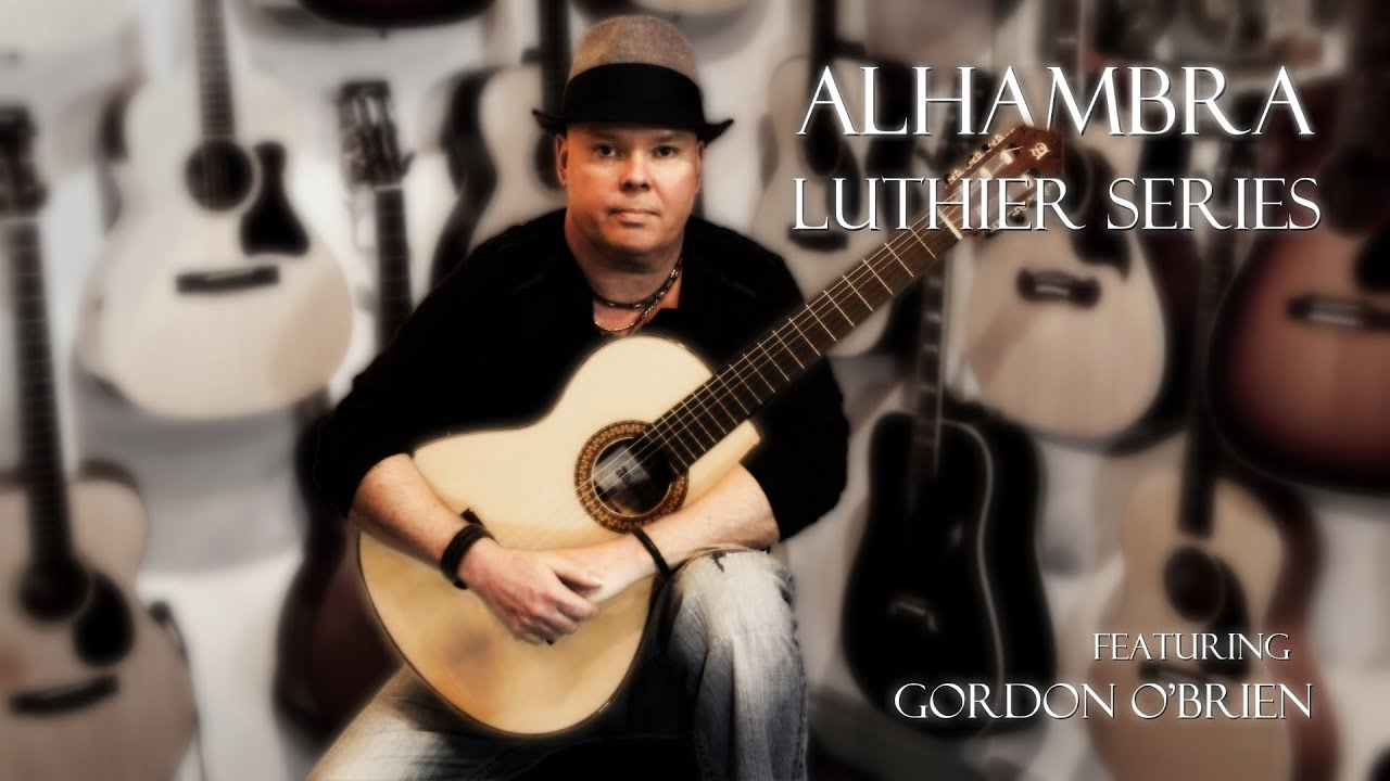 alhambra luthier series guitar review with gord with loop