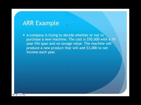 Capital Budgeting Lecture - YouTube