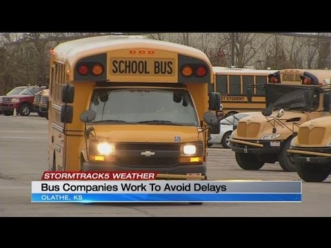 Kansas City school bus companies prepare for bitter cold