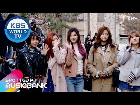 [Spotted at Music bank] 뮤직뱅크 출근길 -  TWICE, Hong Jin Young, B.I.G , Lovelyz, 100% [2017.03.03]
