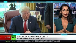 Europe scrambles to keep Iran, US in nuclear deal
