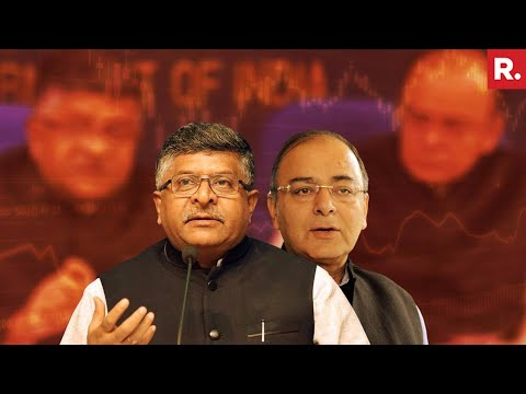 Arun Jaitley & Ravi Shankar Prasad's Live News Conference