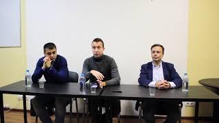 Александр Головин в Школе спортивной журналистики