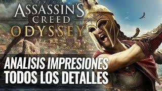 Assassin's Creed ODYSSEY 2018 | ANÁLISIS E IMPRESIONES | Todos los Detalles del juego | Review