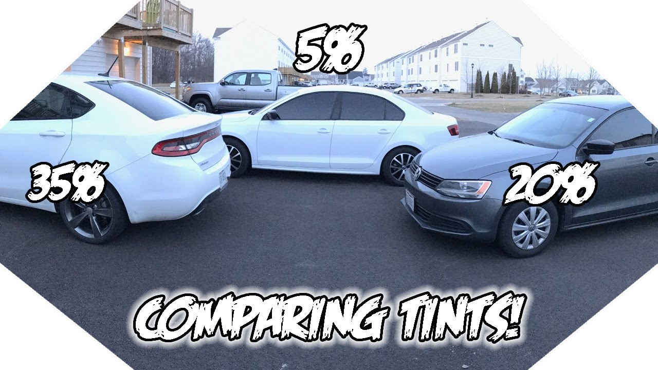 35 vs 20 vs 5 window tint what tint is best for you for Window tinting