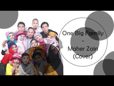 ONE BIG FAMILY -- Cover GEN HALILINTAR -- Dan Terjemahannya