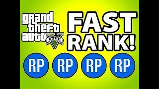 EASY SOLO ! GTA 5  RANK UP FAST GLITCH 5000 RP EVERY 1 MINUTE 1.43 PS4 & XBOX1