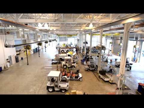 US Airways' LEED® Silver GSE Facility At PHL - Mini Documentary