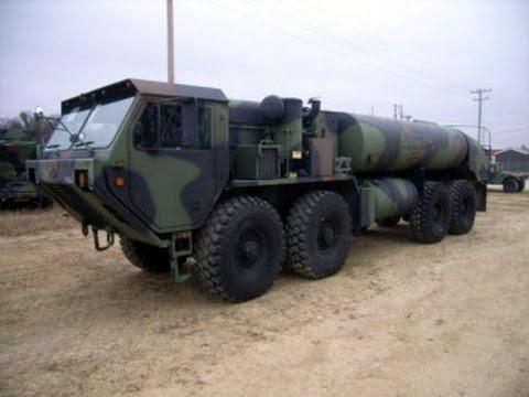 2008 Oshkosh Truck Corp Model M978A2 8X8 Tanker Truck On GovLiquidation.com