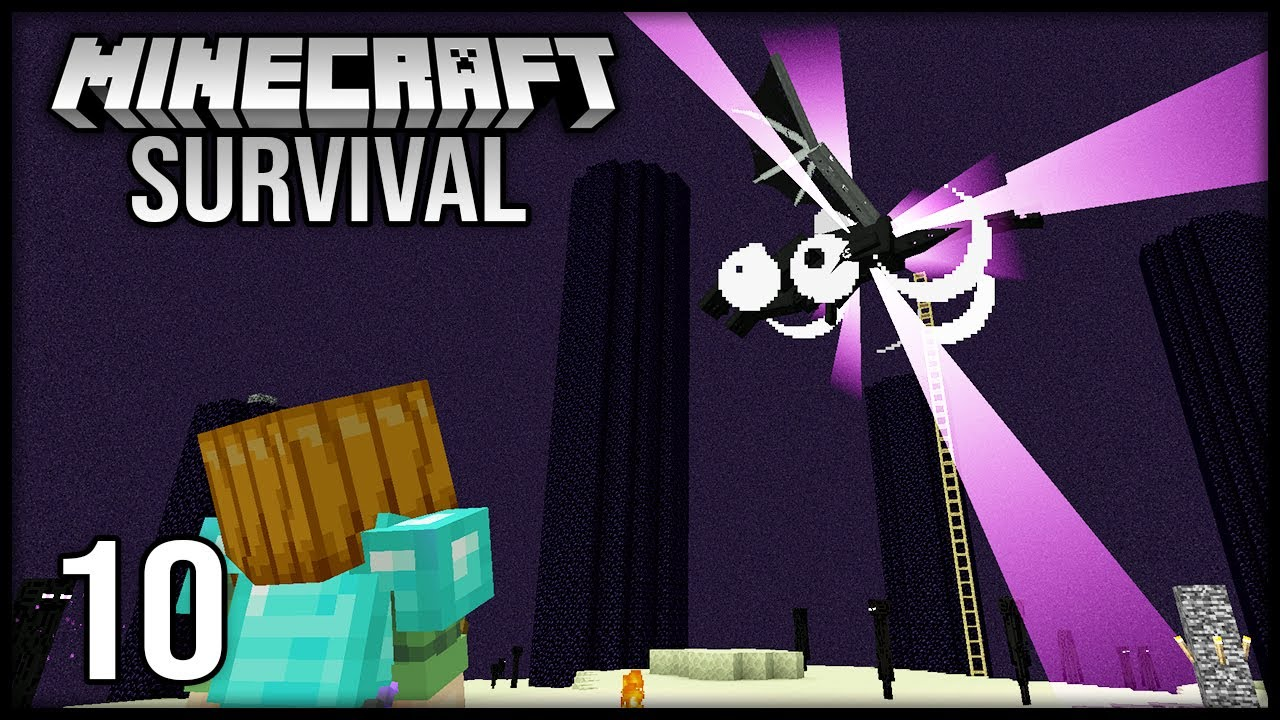 Minecraft 1.17 Survival Let's Play - Episode 10 - TAKING ON THE END!