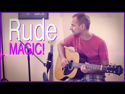 MAGIC! - Rude (Instrumental) | Jake Weber Cover