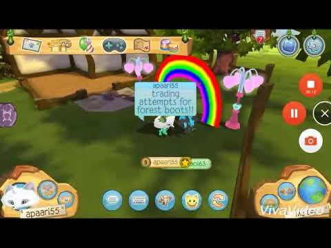 Trade attempts for forest boots! Animal jam play wild