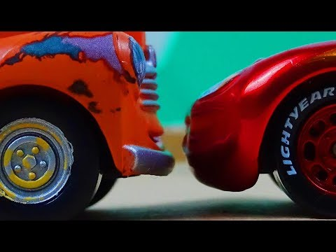 Cars 3  Thomasville Scene Remake!  Lightning McQueen encounters Smokey