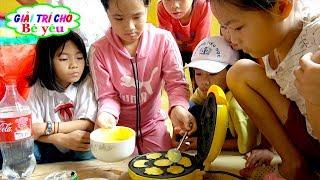 Thử Thách Làm 38 Cái Bánh Nướng Tặng Cô Giáo Và Các Bạn ❤ Giải trí cho Bé yêu