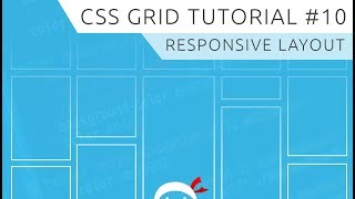 CSS Grid Tutorial #10 - Responsive Grid Example