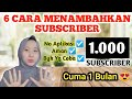 - CARA MENAMBAH SUBSCRIBER DENGAN CEPAT | Saling Subscribe Terbaru 2020