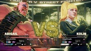 Storm Kubo (Abigail) vs PoongKo (Kolin):ストーム久保(アビゲイル)vs ぷーんこ(コーリン)
