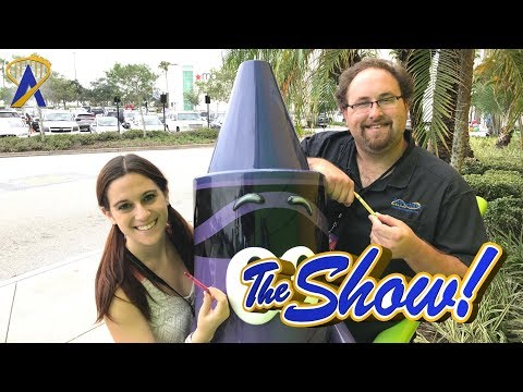 Attractions - The Show - Crayola Experience; Tour de Turtles; latest news - Aug. 3, 2017