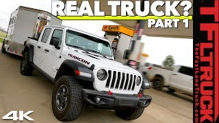 Can the New 2020 Jeep Gladiator Tow a Trailer With The Best Of Them? Highway MPG Review