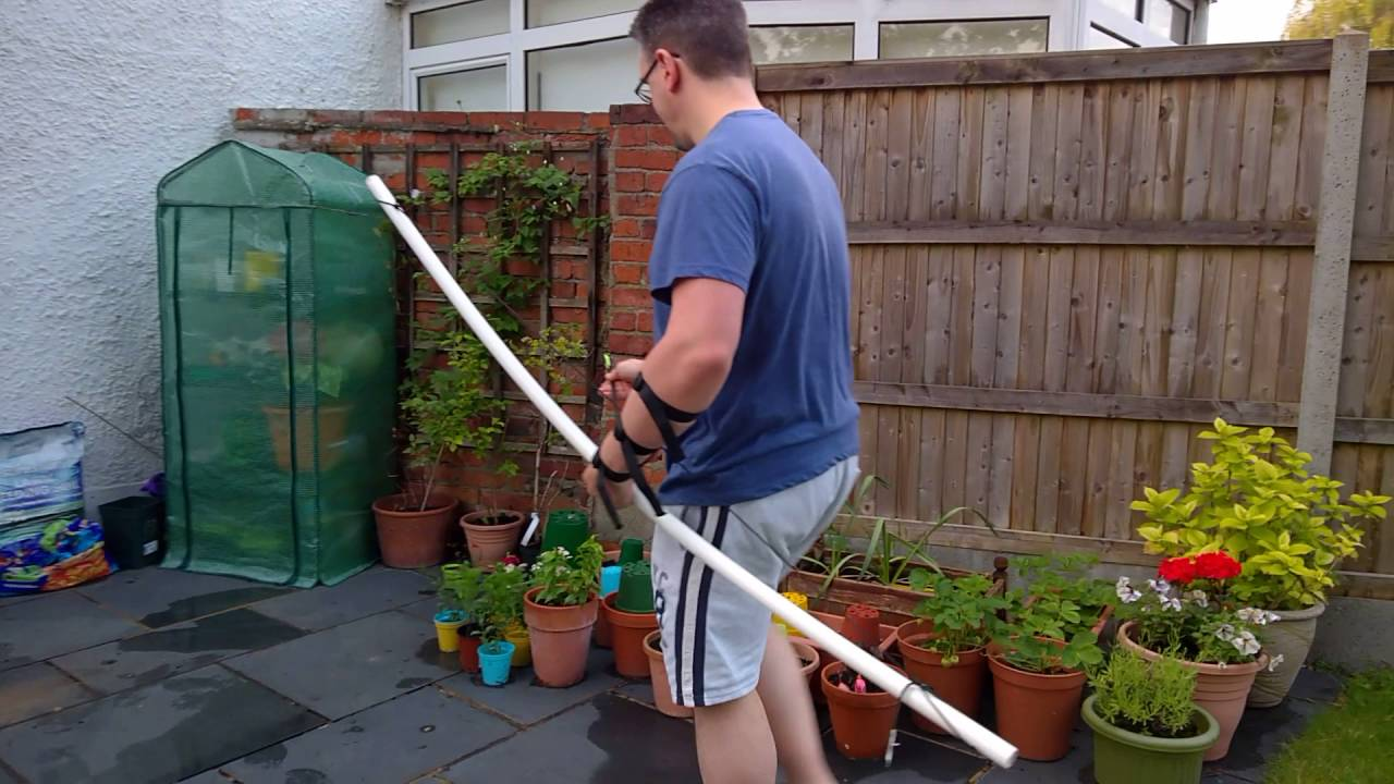 my first pvc bow uk youtube