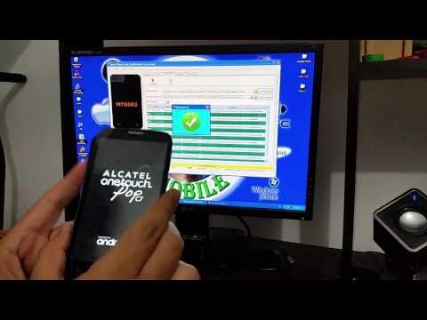 ROM alcatel 7040a cuando se queda en el...