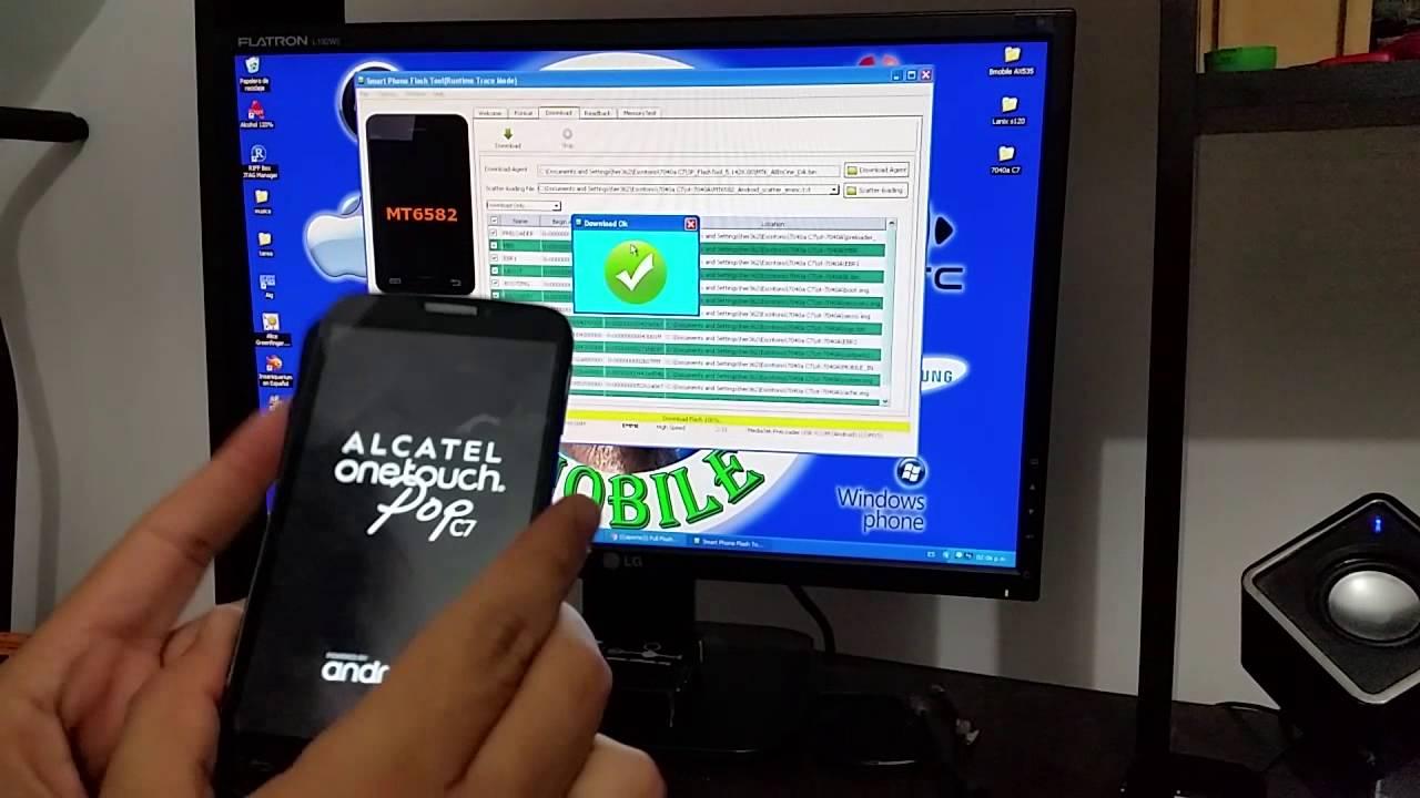 Rom Alcatel 7040a Cuando Se Queda En El Logo