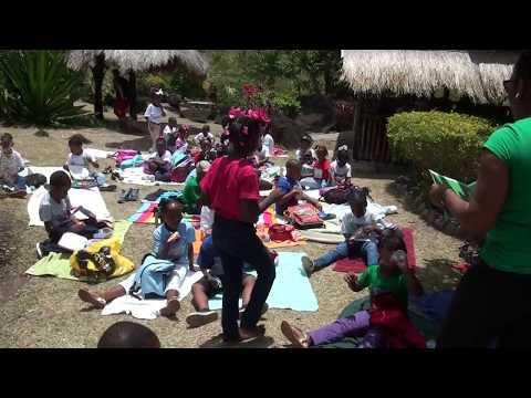 Soufriere Infant School Au Poye Park Excursion