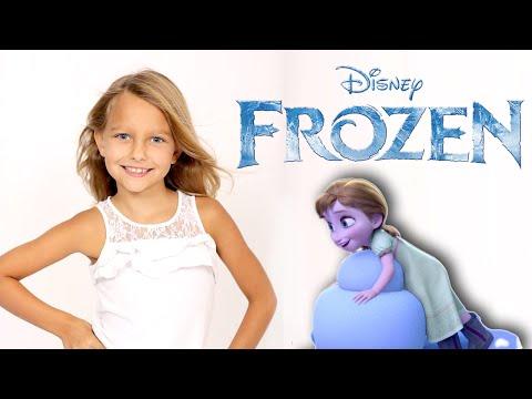 Meet Livvy  The voice of Princess Anna in Disney's Frozen