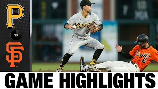 Pirates vs. Giants Game Highlights (7/23/21)