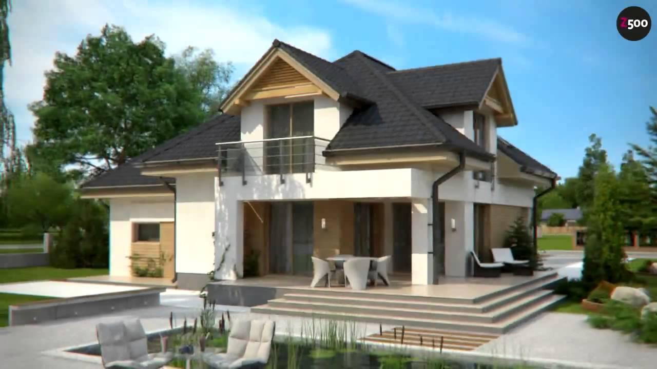 Проект дома Z284 - YouTube