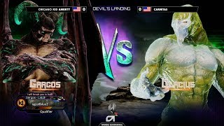 Top 24 Finals ▷ Combo Breaker 2018 - Killer Instinct - Amenty (Gargos) vs Carnitas (Glacius)