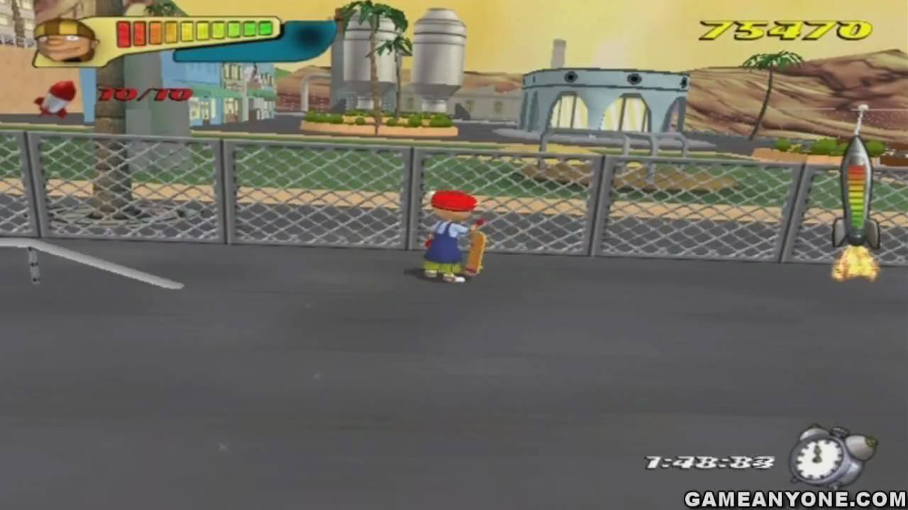 Rocket Power Beach Bandits Hd Part 37 Level 36 1 2 Mad Town Competition Youtube