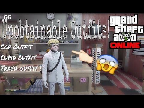 GTA 5 ONLINE - OBTAIN CUPID/POLICE/TRASHMAN OUTFIT GLITCH![RARE UNOBTAINABLE CLOTHES]PATCH 1.27/1.32